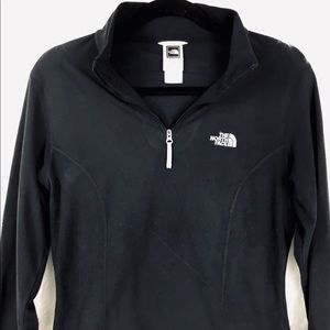 The North Face half zip TKA 100 pullover Sz M